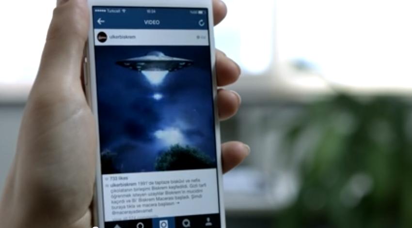 Campaña interactiva en Instagram