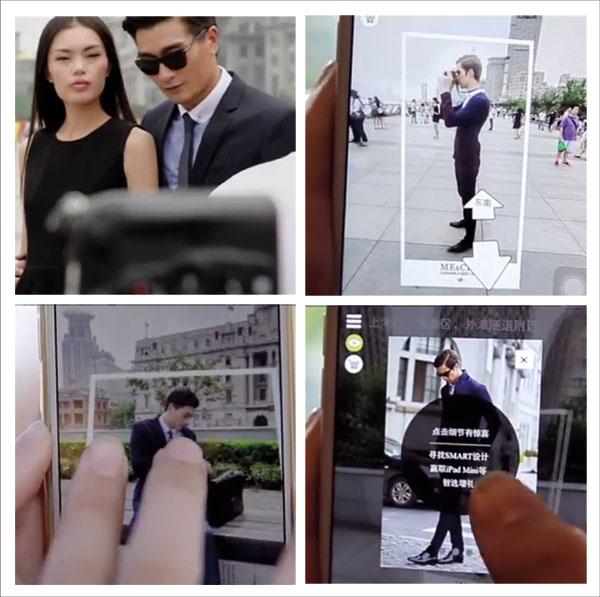 Las calles de Shangai se convierten en pasarela de moda gracias a Street View