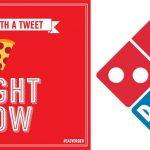 Pide una pizza Domino's con sólo tuitear un emoji