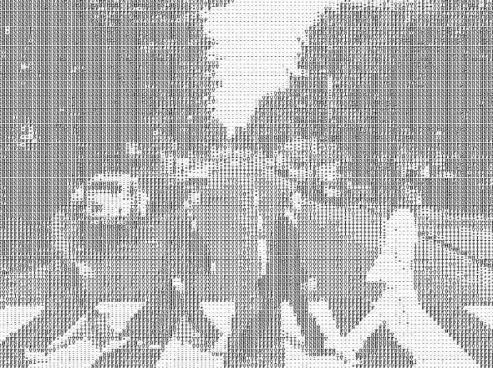 ascii beatles