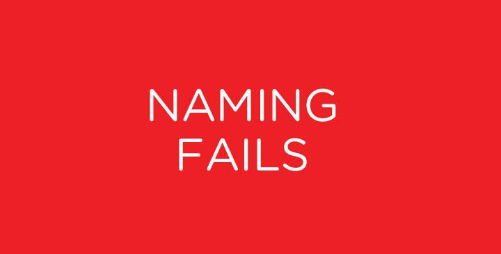 Mayores fails en nombres de marca