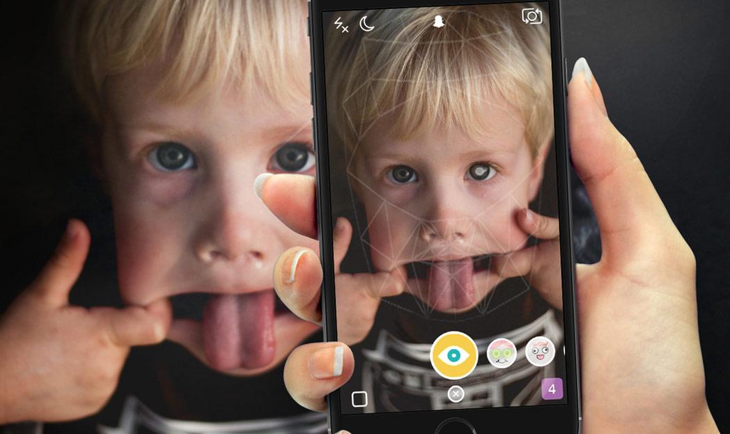 Snapchat avisa cuando detecta un retinoblastoma