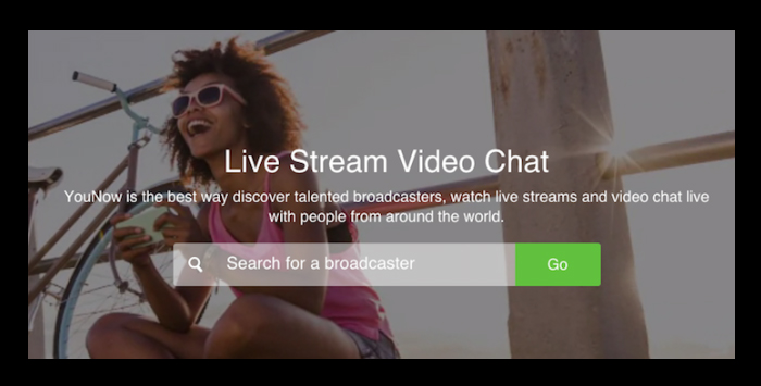 YouNow, la plataforma de streaming en alza