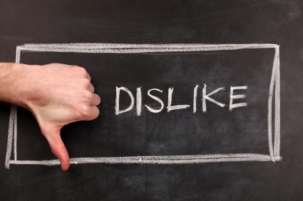 El poder decreciente de los comentarios negativos en redes sociales.