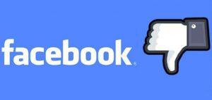 Botón dislike en facebook