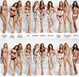 #ImNoAngel Vs #ThePerfectBody