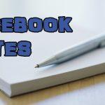 Cómo activar las nuevas Notas de Facebook