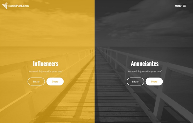 Social Publi, plataforma de marketing de influencers
