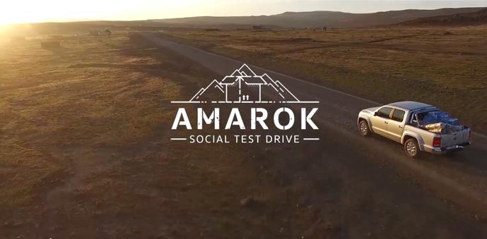 Social test drive, acción de marketing de Volkswagen