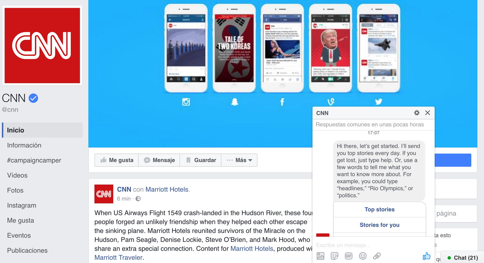 Los 7 mejores Chat Bots de Facebook - Brandominus